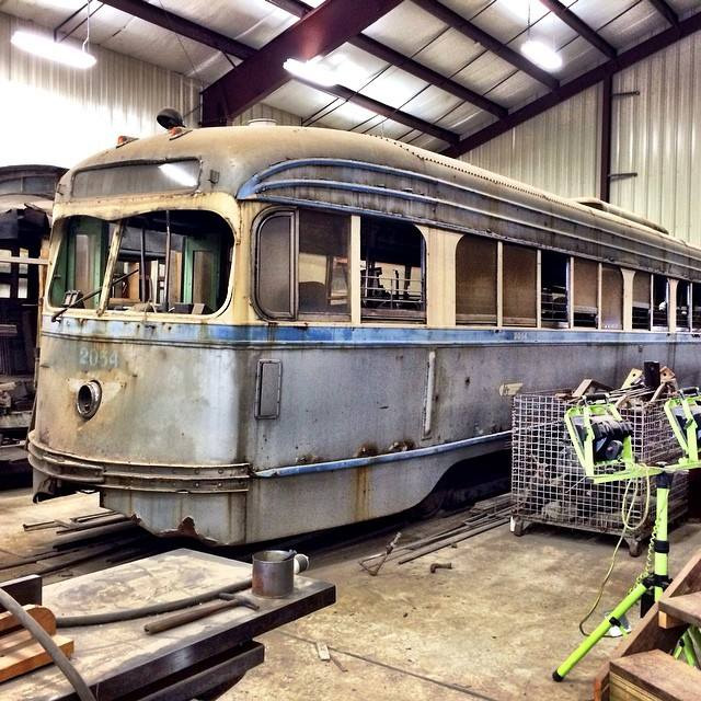 Electric City Trolley Museum In Scranton Pa Home: Philadelphia Trolley Tracks: A. W. Maginnis Collection