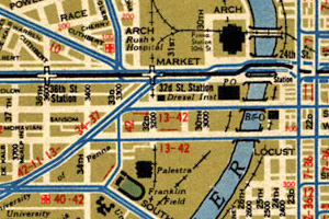 Philadelphia Trolley Maps