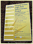 project sign on Callowhill Depot