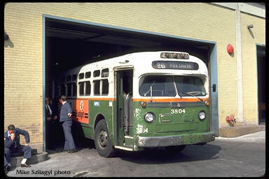General Motors diesel bus