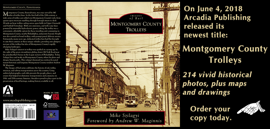 Montgomery County Trolleys book