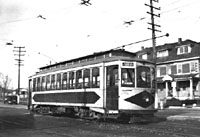 SVT trolley at Montgomery Ave.